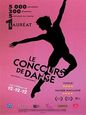 Affiche le concours de danse