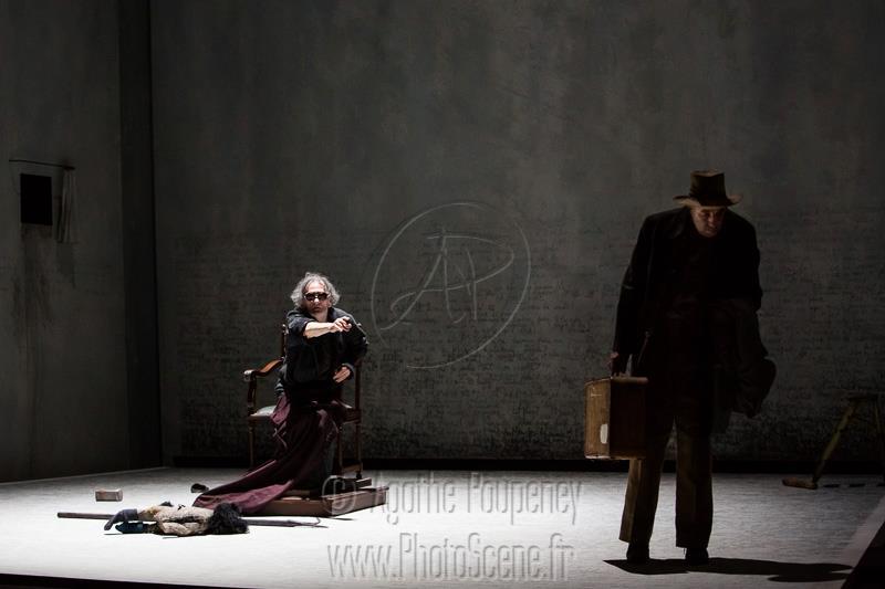 Fin de partie de Samuel Beckett mise en scène d'Alain Françon