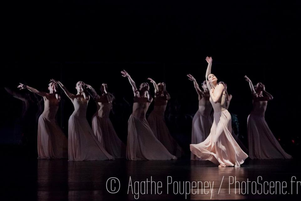Alice Renavand dans Orphée et Eurydice photo d'Agathe Poupeney