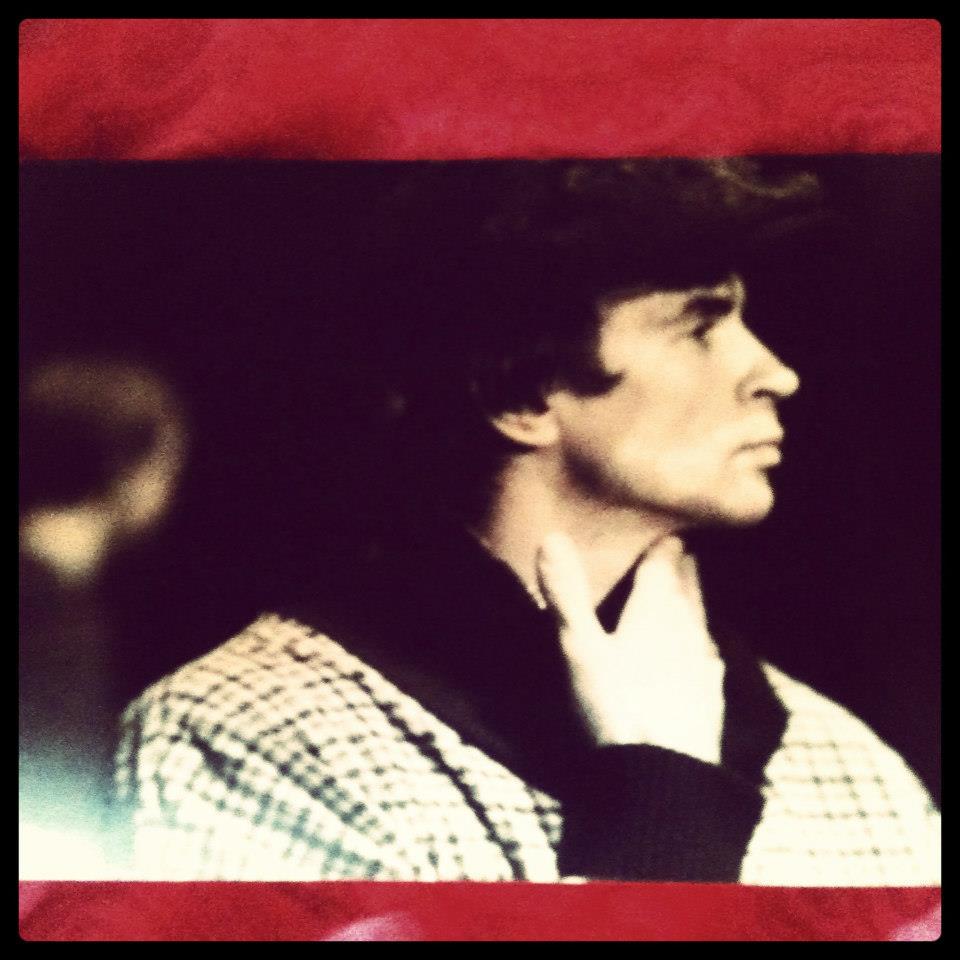 Noureev le jour d'une répétition de Manfred