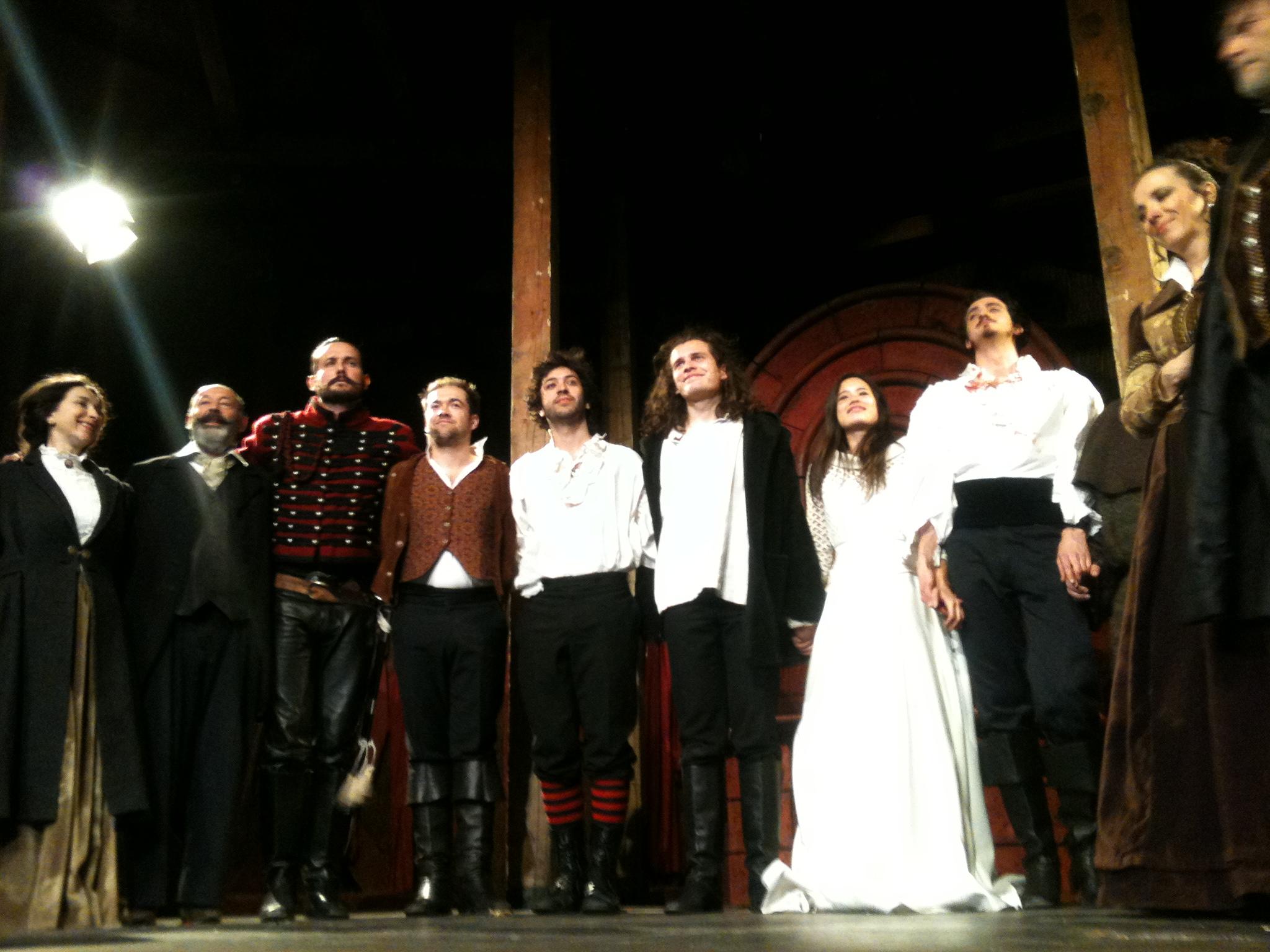 Saluts Roméo et Juliette le 23 mars 2013