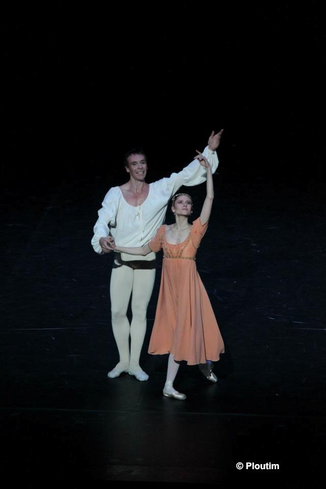 Nicolas Le Riche et Laëtitia Pujol dans Roméo et Juliette