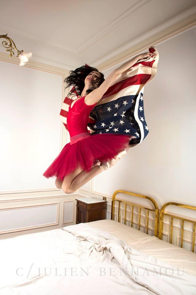 Mathilde Froustey en Amérique