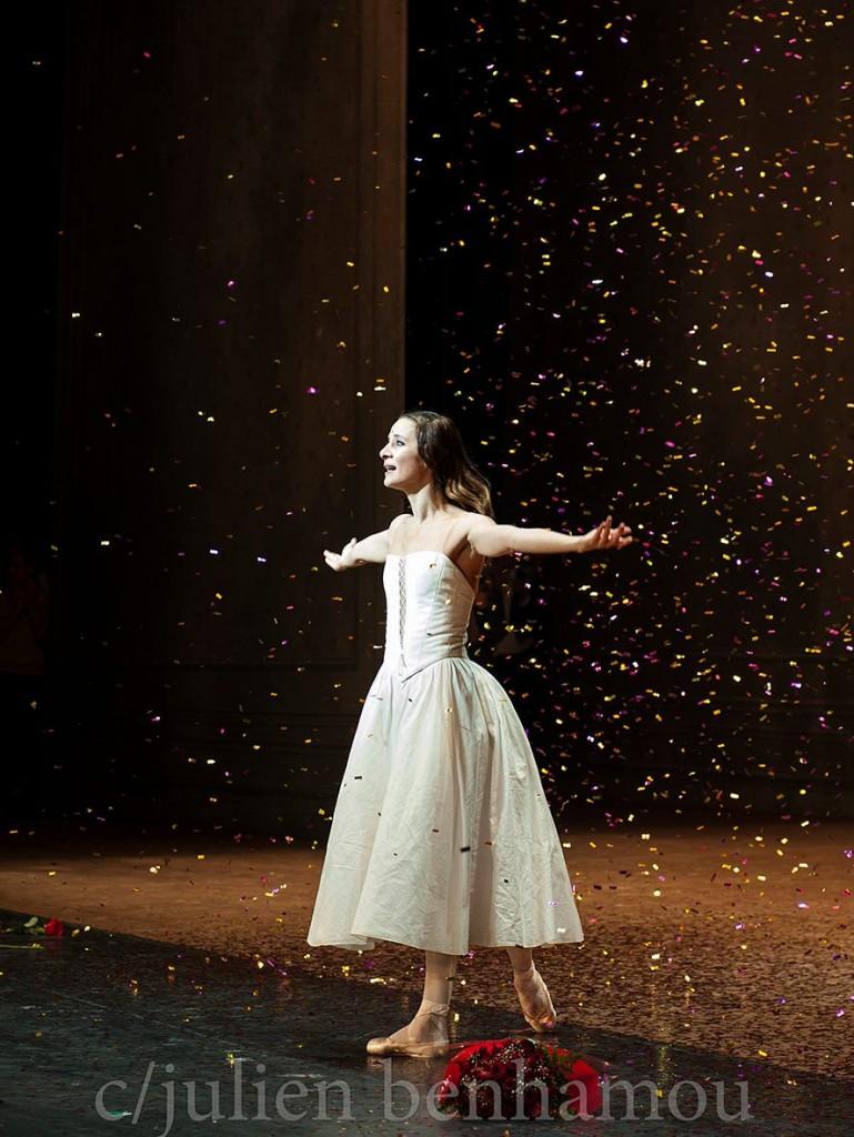 Agnès Letestu seule en scène