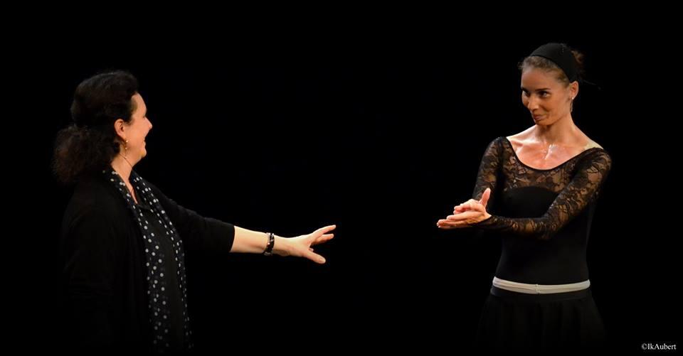 Clotilde Vayer et Sabrina Mallem
