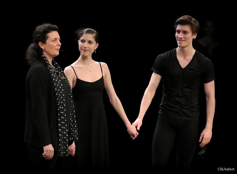 Clotilde Vayer, Héloïse Bourdon et Pierre-Arthur Raveau, photographie d'IKAubert