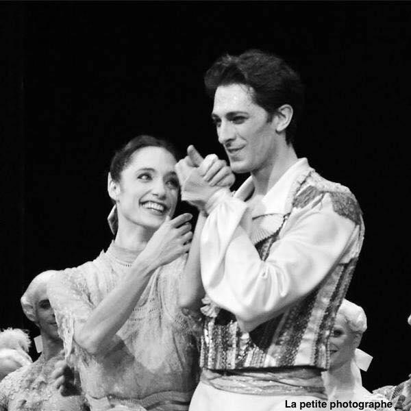 Dorothée Gilbert et Mathieu Ganio