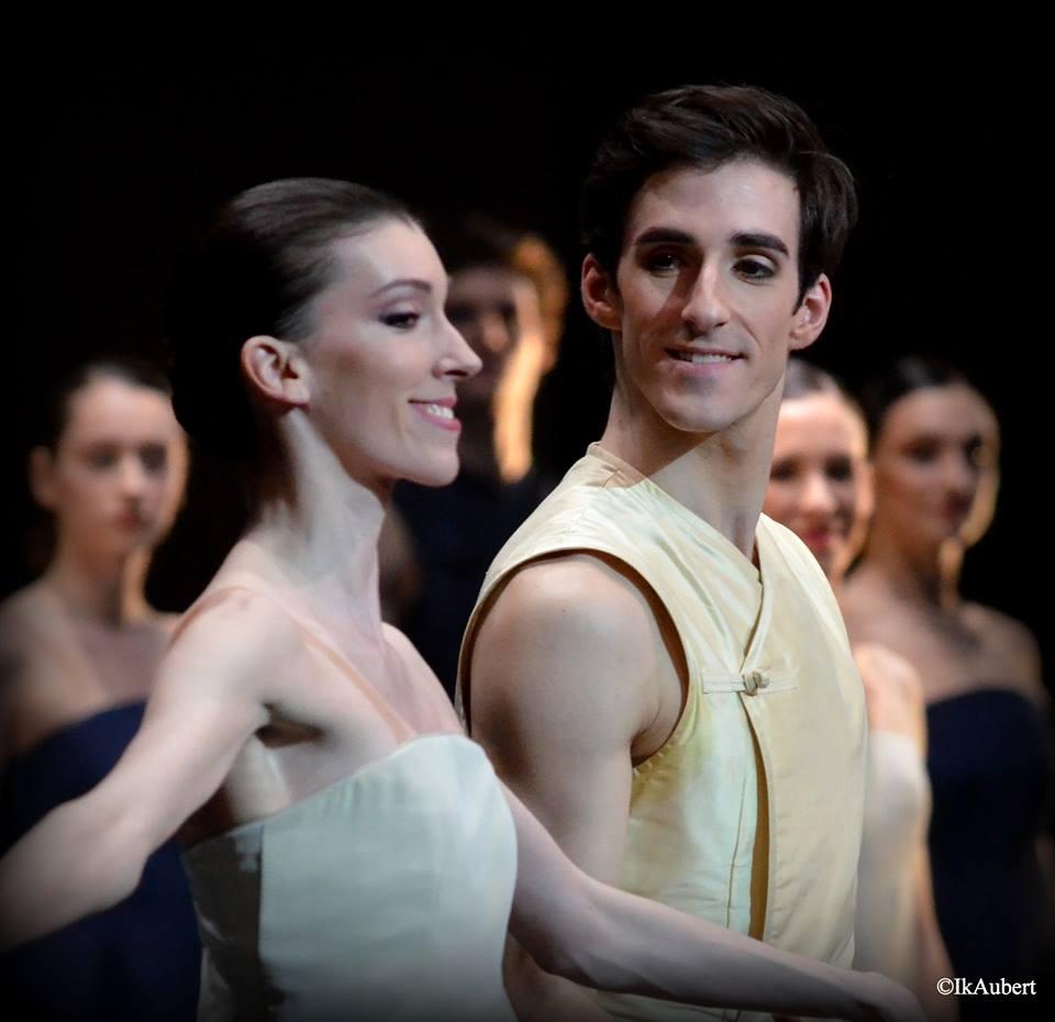 Laura Hecquet et Vincent Chaillet dans Le Chant de la Terre