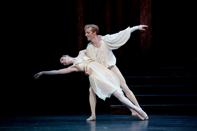 Steven McRae & SArah Lamb photo de Alice Pennefather